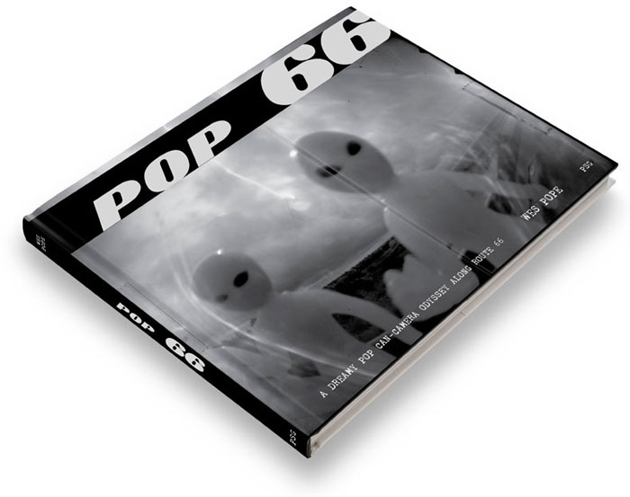 Pop66 - Pop can photographic journal along route 66 by Wes Pope and PSG Publishing